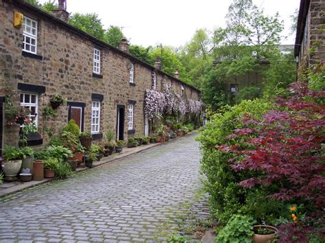 lancashire cottages cottages at narrow gates barley c raymond knapman