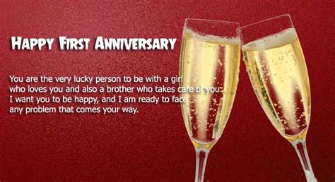 1st wedding anniversary gifts for sister 1st wedding anniversary wishes for sister www imgkid