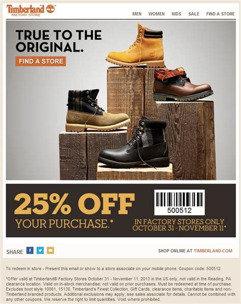 printable timberland outlet coupons 49 best images about boots on pinterest mens casual