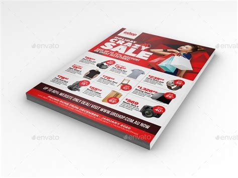 product layout sle product sale and promotional sales flyer by artchery