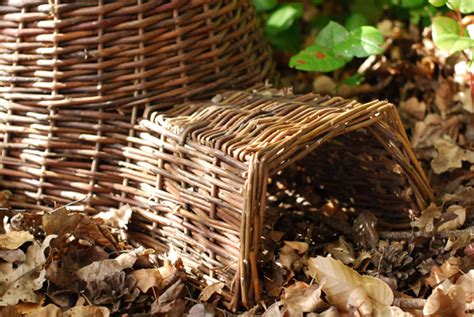 buy hedgehog house buy wicker hedgehog house delivery by crocus