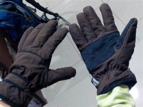 Sarung Tangan Tebal perlengkapan perlengkapan yang sering dilupakan oleh para