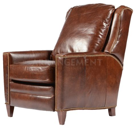Recliner Chair Offers Irving Leather Recliner Our Version Of The Classic Club