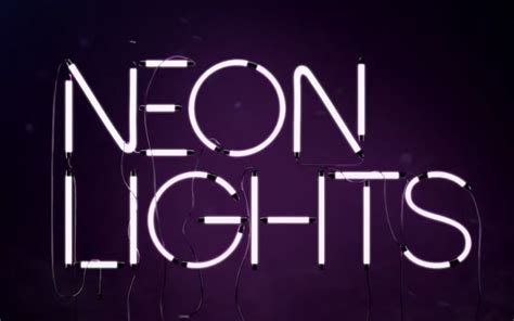 how to make 3d neon light typography demi lovato neon lights font forum dafont com