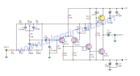 high voltage transistor circuit high quality tone circuit by transistor low noise