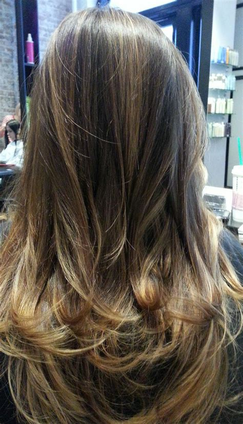 hairstyles highlights brunettes natural highlights on brunette hair by rayna beauty