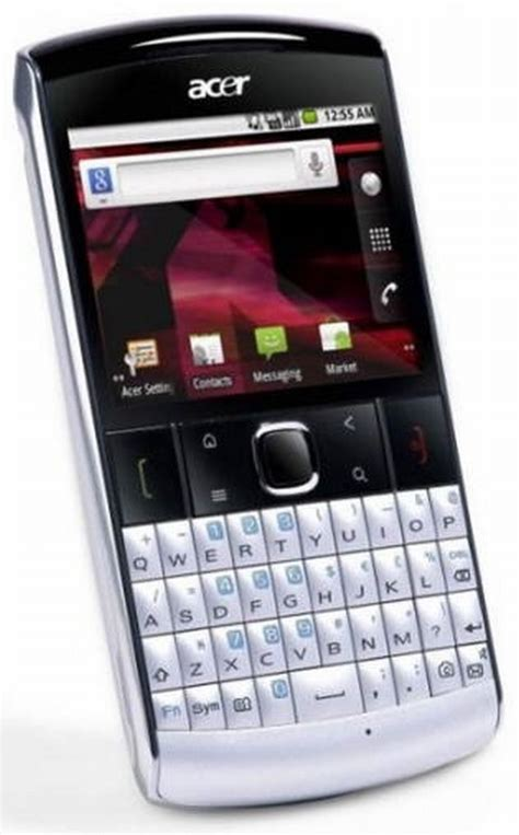 Hp Acer Betouch E210 acer qwerty klavyeli android telefonu betouch e210 u