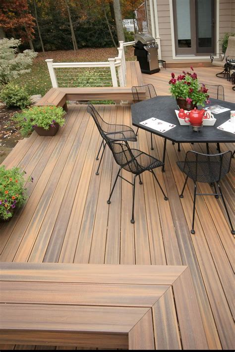 composite natural 411 best composite decks by fiberon images on pinterest