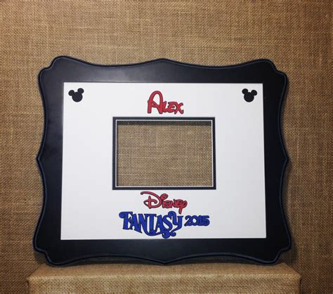 Autograph Photo Mat by Disney Cruise Autograph Photo Mat Signature Matte 11x14 Mat