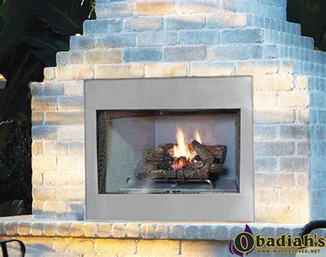 vent free outdoor gas fireplace astria odyssey superior vre3000 outdoor vent free gas