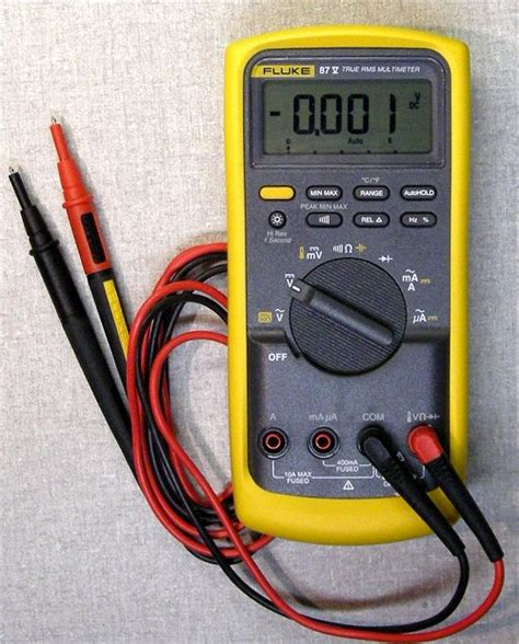 how to check capacitor with fluke 87 tools steve s antique technology