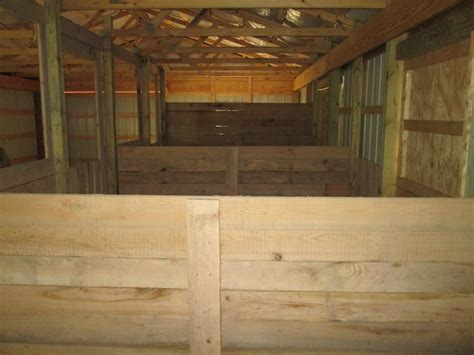 to stall pole barn with stalls keith construction