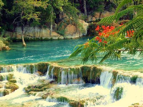 imagenes de paisajes y cascadas fonditos cascada cristalina paisajes cascadas