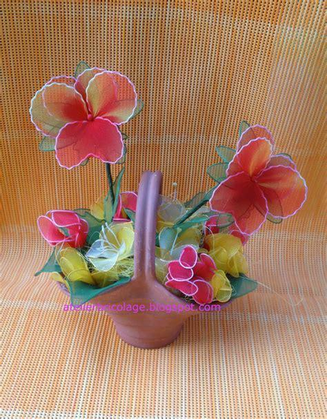 fiori con calze atelierbricolage fiori di calze