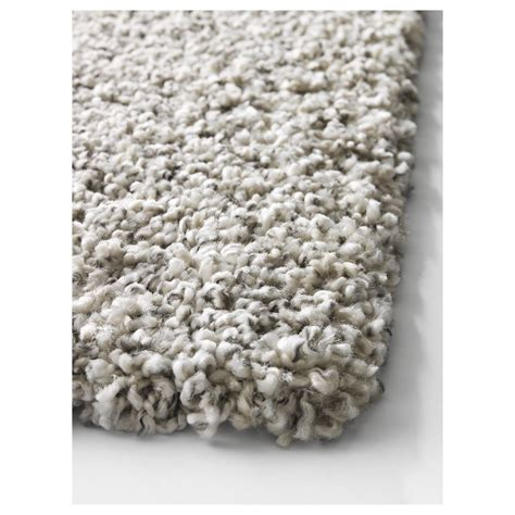Alhede Rug White by Alhede Rug High Pile White 133x195 Cm