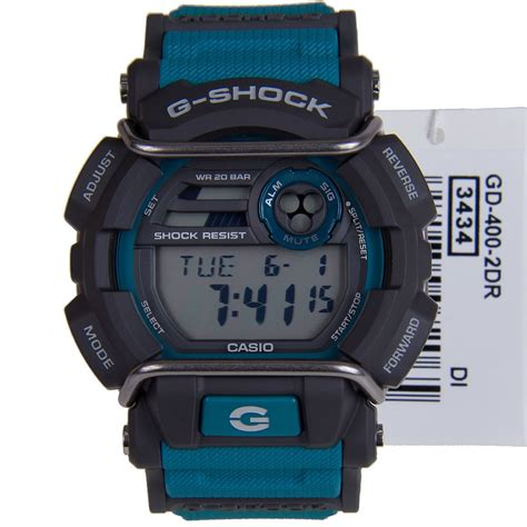 Gshock Casio New Original Gd 400 2dr casio sport digital mens g shock gd 400 1d gd 400 2d gd 400 3d gd 400 4d ebay