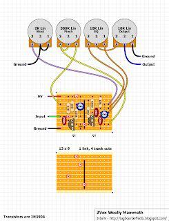 vero layout guide guitar fx layouts zvex woolly mammoth vero