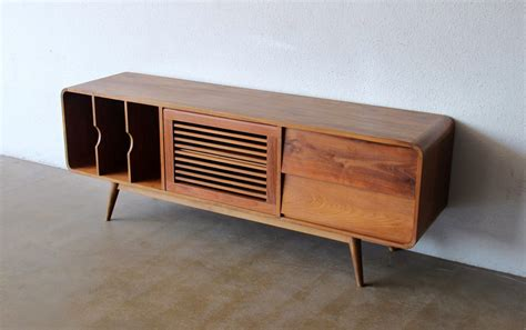 modern tv console mid century modern media console awesome mid century