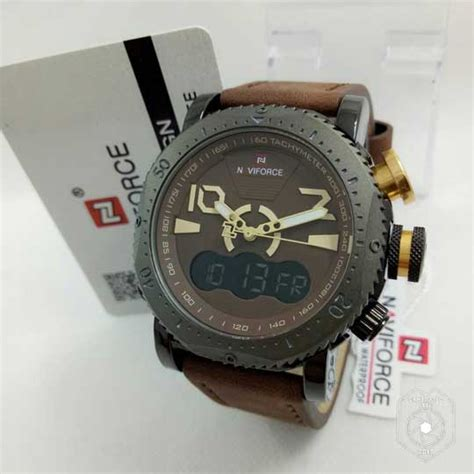 jam tangan naviforce time iii original