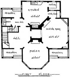Victorian House Floor Plan by Farmhouse Plans Victorian House Plans