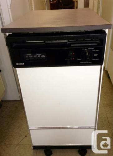 Portable Dishwasher In Apartment Apartment Size Dishwasher For Sale In Winnipeg Manitoba