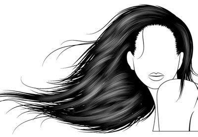 hair pattern adobe illustrator how to vector hair with brushes in adobe illustrator
