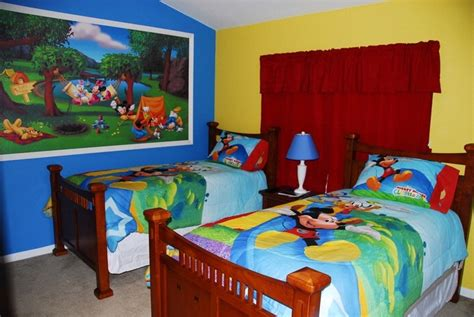 mickey mouse clubhouse bedroom ideas disney mural mickey mouse clubhouse boy room ideas
