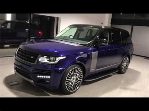 customized range rover 2017 land rover range rover vogue se custom bali blue 2017 body
