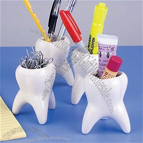 tooth holders promotional molar vase tooth shaped paper clip holder gift 302540786