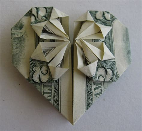 Origami Using Money - stunning origami made using only money i like to waste