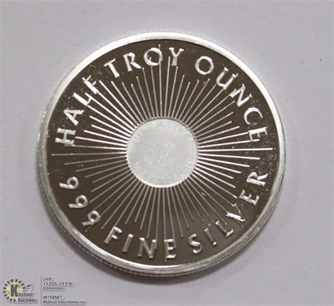 1 Troy Ounce Silver Coin Price - mint 1 2 troy ounce 999 silver coin kastner