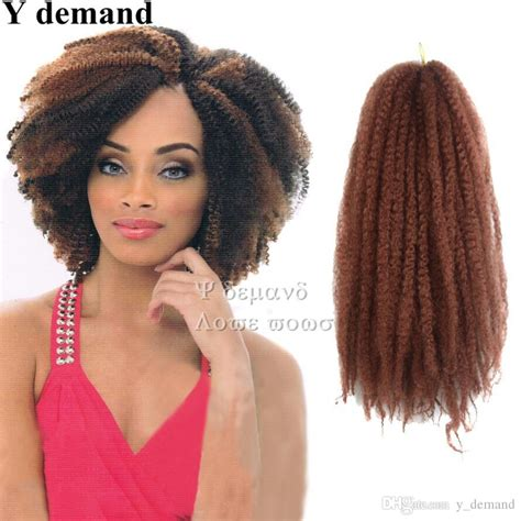 afro braiding hair color 30 2018 afro kinky twist hair crochet braids ombre marley
