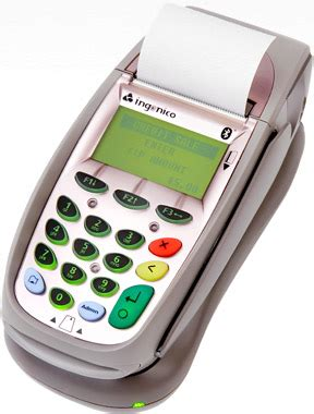 Gift Card Return Machine - ingenico i7780