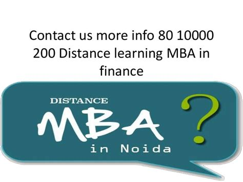 What Is Distance Learning Mba by 80 10000 200 Distance Learning Of Mba In Noida