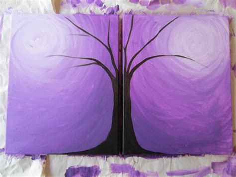 easy acrylic painting ideas pin it like image art pinterest easy acrylic paintings blending tutorial butterflied button branch busted button
