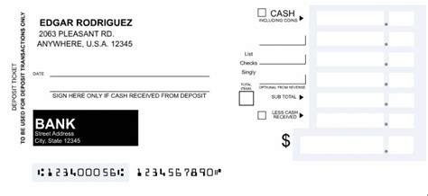 Deposit Slip Template Wells Fargo Templates Resume Exles Q4ge9ybgr9 Bank Deposit Slip Template Word