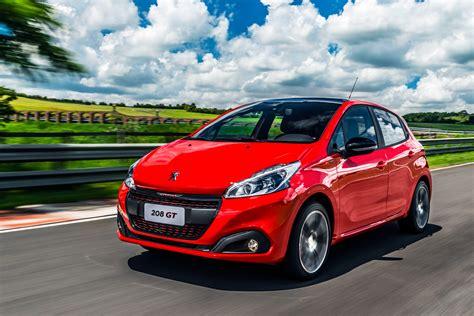 peugeot 208 red wallpaper peugeot 208 gt hatchback red clouds cars
