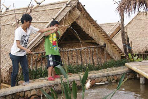 Ranjang Lesehan bukit air resto spots liburan anak informasi event liburan keluarga