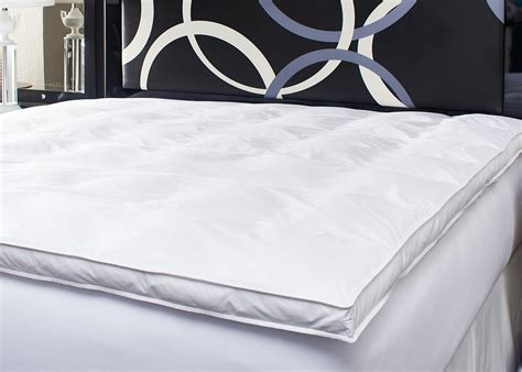 Feather Mattress Topper Xl by Feather Bed Topper Featherbed Mattress Pad Xl