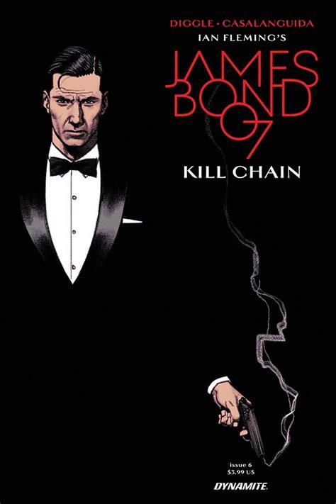 libro james bond kill chain james bond kill chain 6 preview first comics news