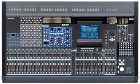 Yamaha Audio Mixer Di Malaysia pm5d overview mixers professional audio products