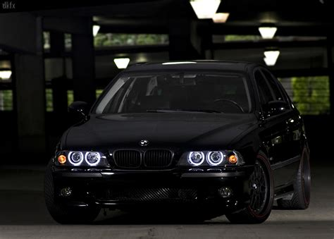 Lu Led M5 All Type 1997 2003 bmw 5 series e39 depo projector halo headlight with optional led ring xenon hid