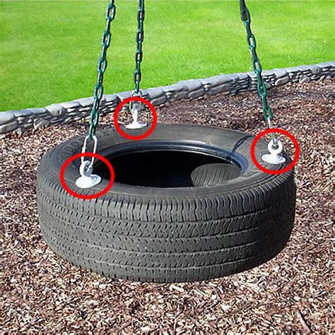 tire swing for playset tire swing eye bolts swingset parts pro