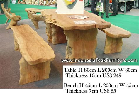 wooden garden bench and table set wood dining table furniture indonesia outdoor patio garden table