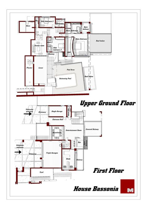 african house plans house plans and design modern double storey house plans