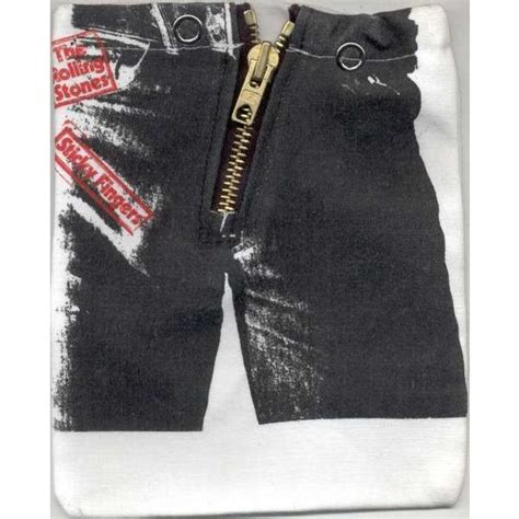 Lp Zipper Abu Limited sticky fingers 90s ltd zip cover album artwork cd cloth overcover by rolling stones