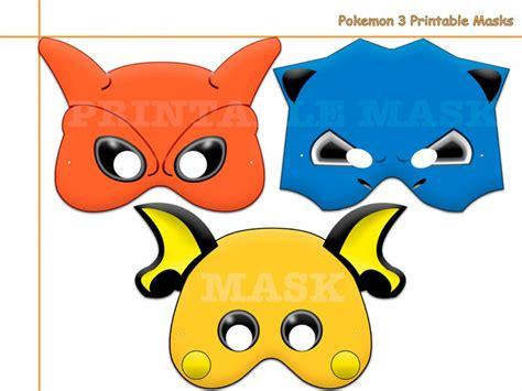 printable pokemon mask unique pokemon 3 printable masks photo by