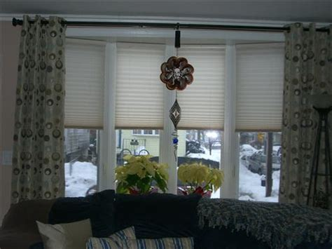 Ideas For Hton Bay Blinds Design Best 25 Bow Window Treatments Ideas On Curtains Living Room Bay Window Bay Window