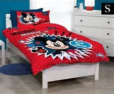 Pp Bedsheet Sprei Disney Princess disney minnie mouse montage rotary single bed duvet quilt cover set new gift ebay