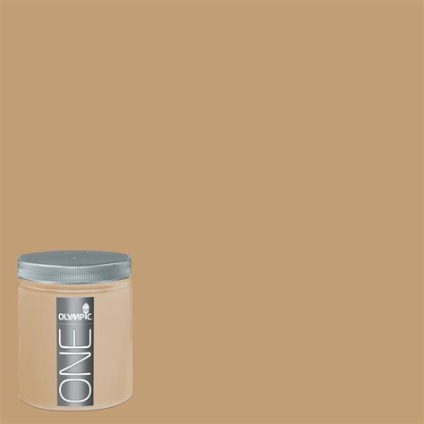 shop olympic 8 oz applesauce cake interior satin paint sle at lowes